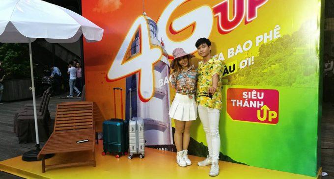 Vietnamobile ra mắt chiến dịch 4G Up