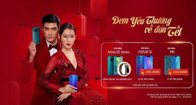 Huawei Việt Nam khuyến mại mừng Tết Kỷ Hợi 2019