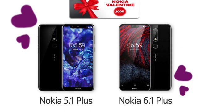 Nokia khuyến mại dịp lễ Tình nhân Valentine