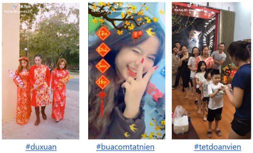 Gần 170.000 video được người Việt chia sẻ trên TikTok dịp Tết Kỷ Hợi 2019
