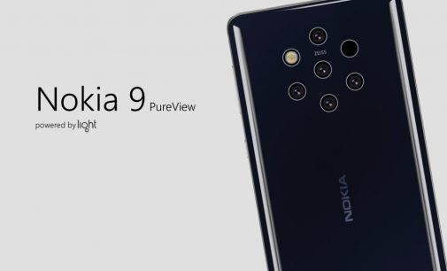 Nokia 9 có tới 5 camera sau