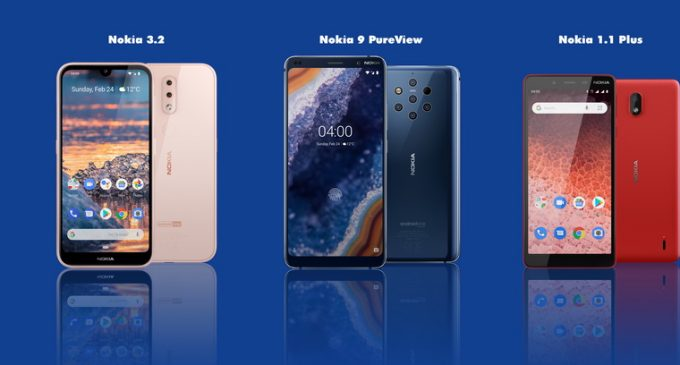 Nokia có thêm 4 mẫu smartphone Android mới