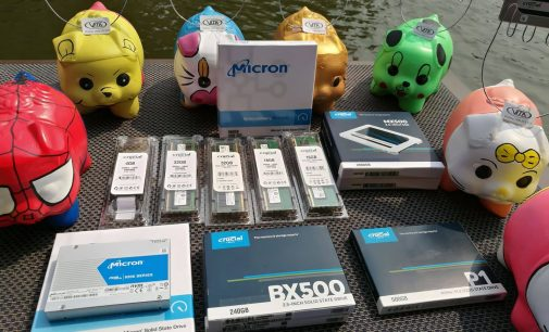 Crucial by Micron trưng bày các sản phẩm bộ nhớ và lưu trữ Flash