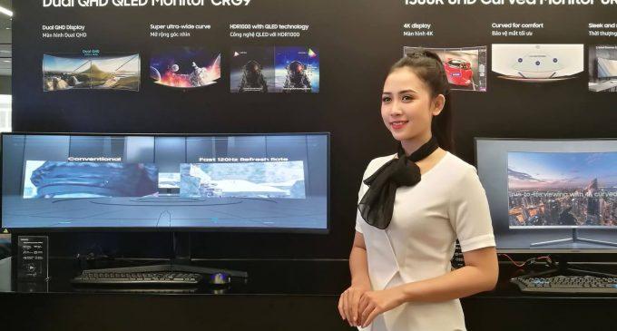 Samsung Vina ra mắt màn hình máy tính Space cho không gian làm việc hiện đại