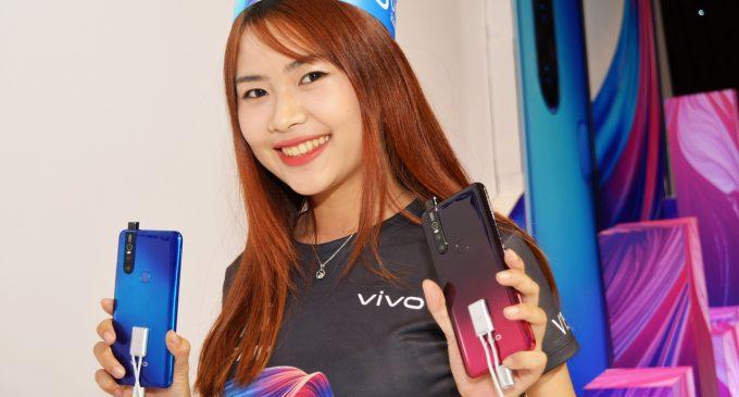 """Vivo V15 với camera selfie """"tàng hình"""" ra mắt ở Việt Nam"""