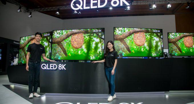 Samsung cập nhật dòng TV QLED 2019 cực nét 8K và TV The Frame khung tranh