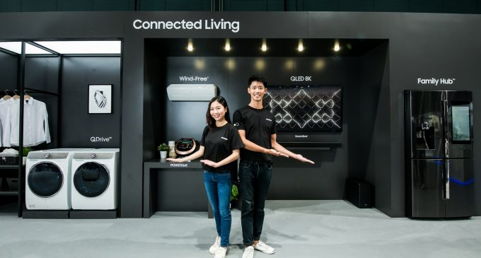Samsung nâng cấp AI cho tủ lạnh kết nối Family Hub 2019 và máy giặt công nghệ mới QuickDrive