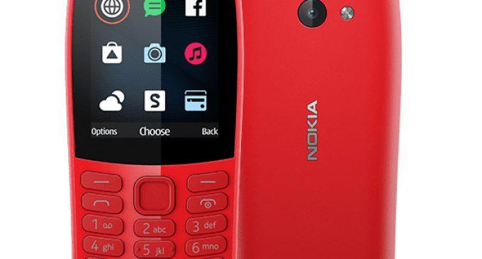 Nokia 210 – điện thoại phổ thông kết nối Internet giá dưới 800.000 đồng
