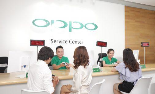 OPPO Việt Nam mở dịch vụ bảo hành trong 1 giờ