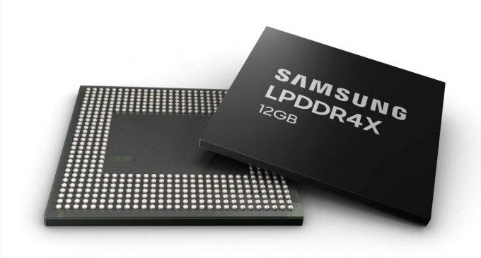 Samsung bắt đầu sản xuất hàng loạt RAM LPDDR4X 12GB cho smartphone