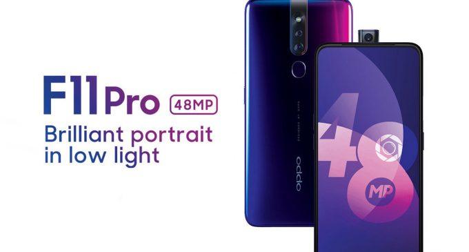 OPPO F11 Pro và F11 camera 48MP ra mắt từ Ấn Độ