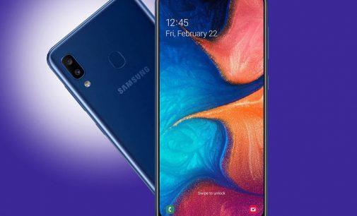 Samsung Galaxy A20 tham gia phân khúc smartphone 4-5 triệu đồng tại Việt Nam