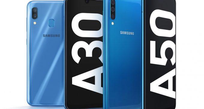 Samsung bán bộ đôi Galaxy A50 và Galaxy A30 tại Việt Nam giá dưới 8 triệu đồng