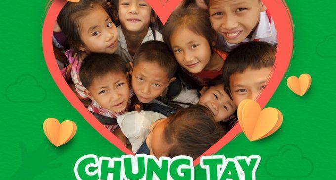 Grab tham gia dự án Nuôi Em cung cấp 117.000 bữa ăn cho trẻ em nghèo Tây Bắc