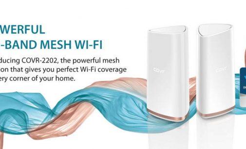 Giải pháp Wi-Fi Mesh COVR của D-Link