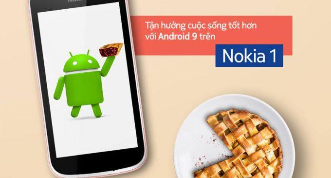 Smartphone Nokia 1 được lên hệ điều hành Android 9 Pie