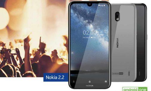 Smartphone Nokia 2.2 bán ở Việt Nam với giá 2.290.000 đồng