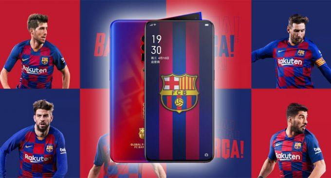 OPPO ra mắt smartphone Reno 10x Zoom phiên bản giới hạn FC Barcelona