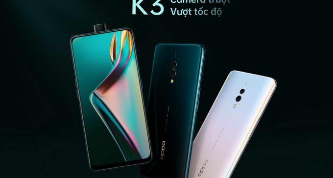 OPPO có thêm smartphone K3 bán tại Việt Nam