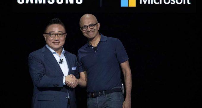 Samsung và Microsoft mở rộng quan hệ đối tác chiến lược trên thiết bị di động từ Galaxy Note10