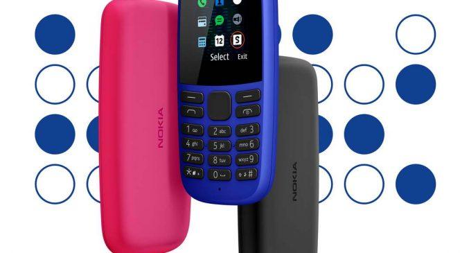 Nokia 105 mới thế hệ thứ 4 màn hình màu giá 359.000 đồng