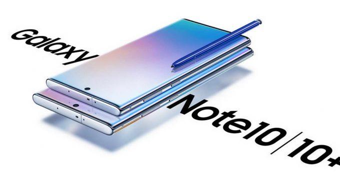 Samsung ra mắt bộ đôi smartphone Galaxy Note10 và Note10+