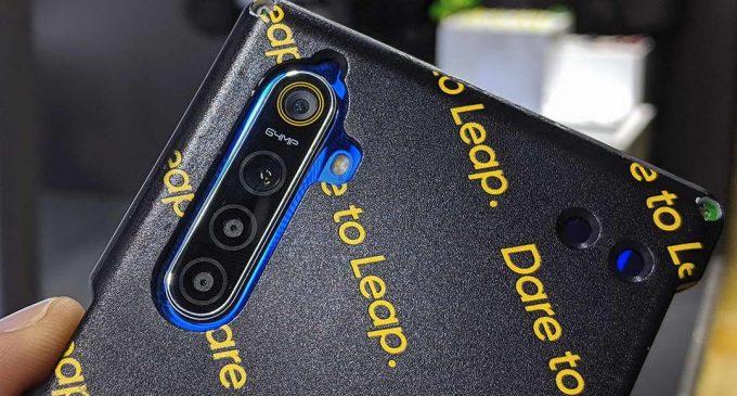 Realme công bố cụm 4 camera độ phân giải 64MP cho smartphone