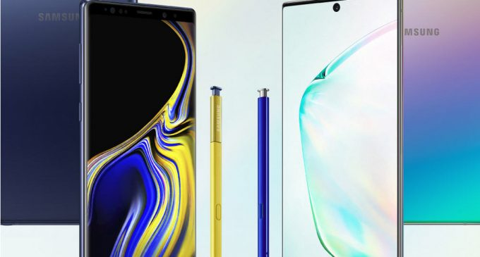 INFOGRAPHIC: So sánh giữa Samsung Galaxy Note10+ với Note9