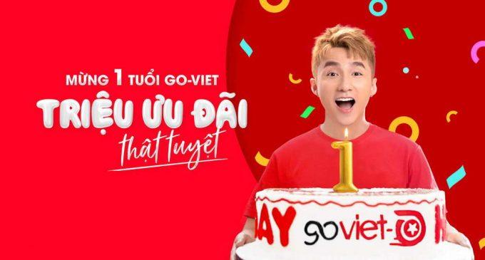 GoViet cán mốc 100 triệu chuyến xe sau một năm ra mắt