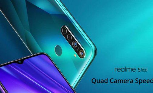 Realme ra mắt 2 smartphone đầu tiên có quad-camera Realme 5 và Realme 5 Pro