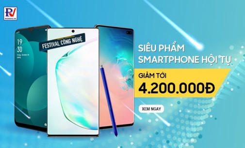 Hệ thống cửa hàng Phong Vũ bắt đầu bán smartphone