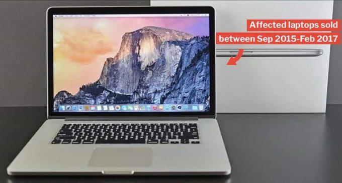 Việt Nam cấm mang laptop MacBook Pro 15 inch đời 2015 thuộc diện có nguy cơ bị lỗi pin lên máy bay