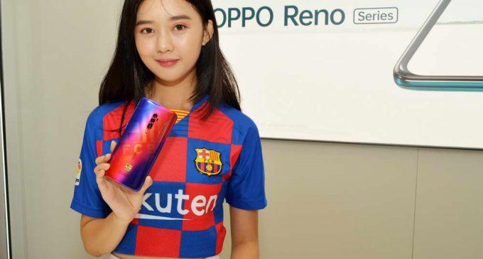 OPPO Việt Nam mở bán smartphone Reno 10x Zoom phiên bản giới hạn FC Barcelona