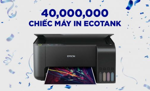 40 triệu chiếc máy in phun liên tục Epson EcoTank đã được bán ra trên toàn cầu
