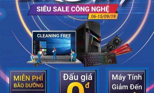 """Hệ thống Phong Vũ tiếp tục khuyến mại """"Zero Day – Siêu Sale Công nghệ"""""""