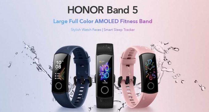 Vòng đeo tay thông minh HONOR Band 5 cho người rèn luyện sức khỏe không cần nhiều chi phí