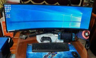 """Samsung Monitor Gaming 49″ LC49RG90: Chiếc màn hình 5K """"siêu khủng"""" cho dân chơi game"""