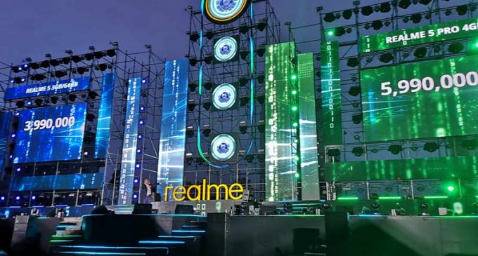 Realme Việt Nam tổ chức đại nhạc hội ra mắt bộ đôi smartphone Realme 5 và Realme 5 Pro
