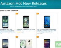 Nokia 7.2 ở trong danh sách các sản phẩm mới bán chạy nhất trên chợ Amazon