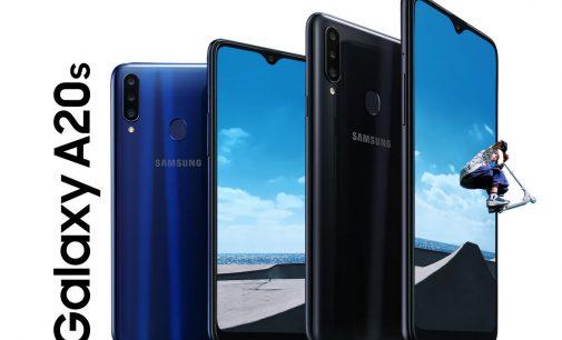 Smartphone Samsung Galaxy A20s với bộ 3 camera và sạc siêu tốc cho phân khúc tầm trung ra mắt thị trường Việt Nam