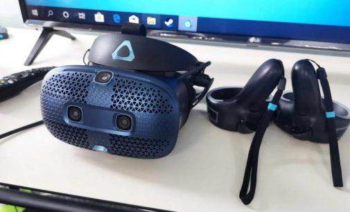 Trải nghiệm kính thực tế ảo HTC VIVE Cosmos
