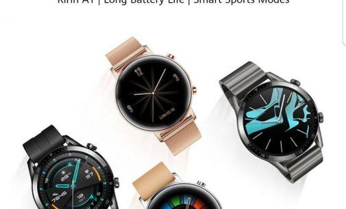 Huawei Việt Nam ra mắt đồng hồ thông minh Huawei Watch GT 2