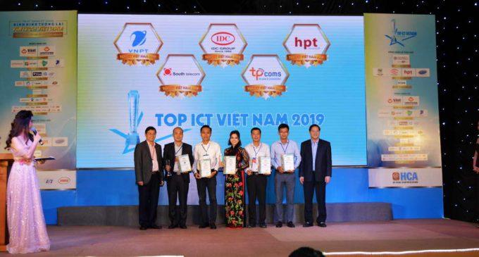Trao giải thưởng TOP ICT Việt Nam 2019 cho các doanh nghiệp CNTT xuất sắc