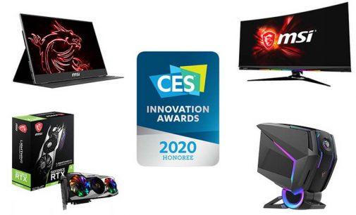 MSI nhận được 10 giải thưởng sáng tạo của Triển lãm CES Las Vegas 2020