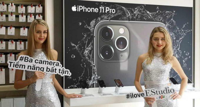 Hệ thống cửa hàng FPT Shop mở bán bộ 3 iPhone 11 series