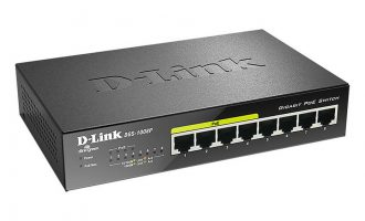 Switch PoE D-Link 8 cổng Gigabit thân thiện môi trường