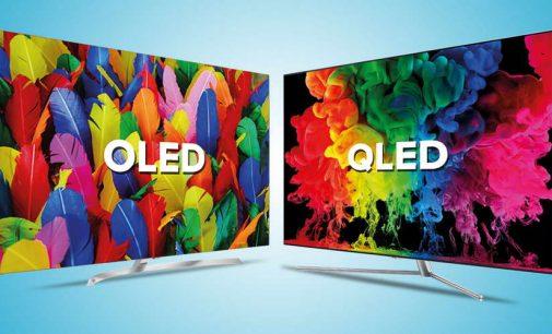 TV OLED và QLED vẫn cứ cạnh tranh nhau
