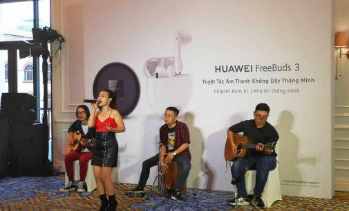 Huawei Việt Nam ra mắt tai nghe không dây thông minh FreeBuds 3 và smartphone Y9s