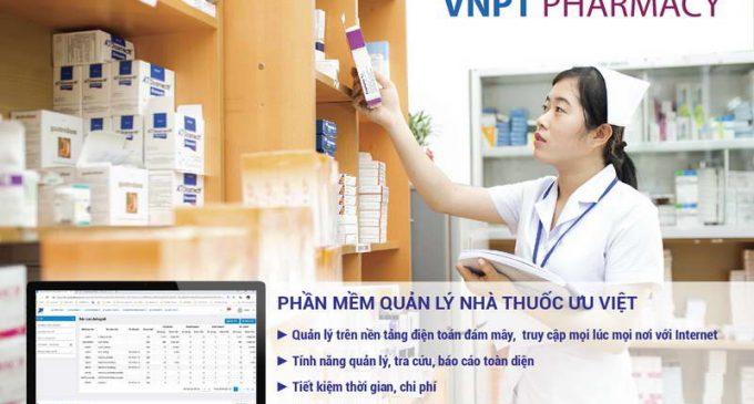 Phần mềm quản lý hoạt động nhà thuốc VNPT Pharmacy