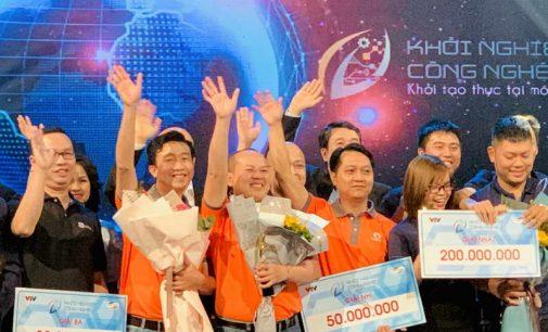 Thế Giới Thợ đạt giải Nhì của cuộc thi Khởi nghiệp Công nghệ mùa đầu tiên